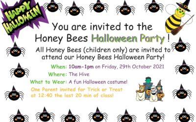 Honey Bees Halloween Party!